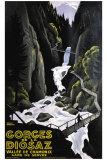 Gorges de la Diosaz Giclee Print by Roger Broders