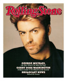 George Michael, Rolling Stone no. 518, January 28, 1988 Photographic Print by Matthew Rolston
