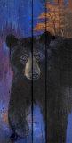 Blue Bear Affiches par Penny Wagner
