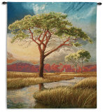 Daybreak on the Marsh Wall Tapestry