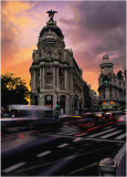Madrid, Metropolis Art by Juan Manuel Cabezas