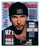 The Edge, Rolling Stone no. 667, October 14, 1993 Photographic Print by Andrew Macpherson