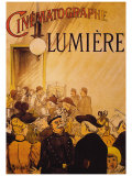 Cinematographe Lumiere Giclee Print by H. Brispot