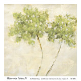 Watercolor Petites IV Prints by Michael King