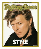 David Bowie, Rolling Stone no. 498, April 23, 1987 Photographic Print by Herb Ritts