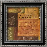 Words to Live By: Faith Print by Debbie DeWitt