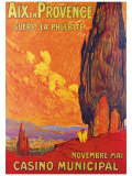 Aix en Provence Giclee Print by M. Feguide