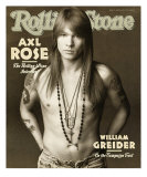 Axl Rose, Rolling Stone no. 627, April 2, 1992 Photographic Print by Herb Ritts