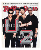 U2, Rolling Stone no. 618, November 28, 1991 Photographic Print by Anton Corbijn