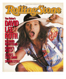 David Lee Roth, Rolling Stone no. 445, April 11, 1985 Photographic Print