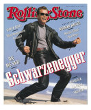 Arnold Schwarzenegger, Rolling Stone no. 611, August 22, 1991 Photographic Print by Herb Ritts