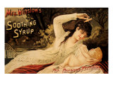 Mrs. Winslow's Soothing Syrup, c.1890 Giclee Print