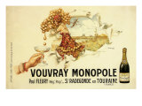 Vouvray Monopole, c.1910 Giclee Print by Mathilde Herouard