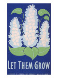 Let Them Grow WPA, c.1938 Giclee Print by Stanley Thomas Clough