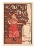 Pate Dentifrice du Docteur Pierre, c.1894 Giclee Print by Louis Maurice Boutet De Monvel