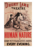 Human Nature at the Drury Lane Theatre, c.1885 Giclee Print