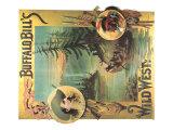 Buffalo Bill's Wild West Giclee Print