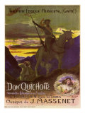 Don Quixote, c.1910 Giclee Print by Georges Antoine Rochegrosse