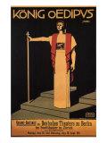 Konig Oedipus, c.1911 Giclee Print by Ernst Stern