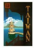 Taiwan: Sun Moon Lake, c.1950 Giclee Print