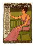 Societe Internationale at Galerie Georges Petit, c.1897 Giclee Print by Maurice Realier-Dumas