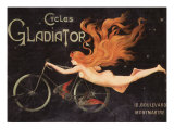 Gladiator Cycles, Montmartre Giclee Print