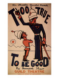 Too True to Be Good by Bernard Shaw at the Guild Theatre, c.1932 Giclee Print by Frank Watts