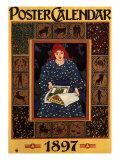 Calendar, c.1897 Giclee Print by Louis John Rhead