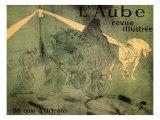 L'aube Revue Illustree, c.1896 Lámina giclée por Henri de Toulouse-Lautrec
