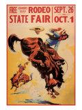 Rodeo State Fair, c.1940 Giclée-Druck