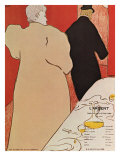 L'argent, c.1895 Lámina giclée por Henri de Toulouse-Lautrec