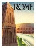 Rome Travel Poster, c.1933 Giclee Print