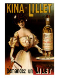 Kina-Lillet: Demandez Un Lilet, c.1899 Giclee Print by Robys (Robert Wolff) 