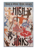 High Jinks at theelphe Theatre, c.1916 Giclee Print by E.p. Kindella