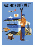 Pacific Northwest, c.1956 Giclee Print