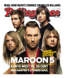 Maroon 5, Rolling Stone no. 1034, September 6, 2007 Photographic Print by Matthew Rolston