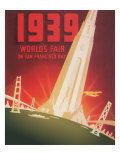 1939 World&#39;s Fair on San Francisco Bay Giclee Print by Shawel, Nyeland &amp; Seavy 