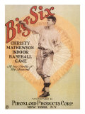 Big Six: Christy Mathewson Indoor Baseball Game, c.1910 Giclee Print
