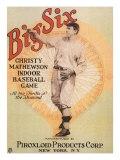 Big Six: Christy Mathewson Indoor Baseball Game, c.1910 Giclee Print