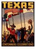Texas Centennial Celebrations, c.1936 Giclee Print