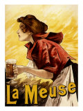 La Meuse Beer, c.1900 Giclee Print