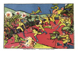 Russians Flay Germans, c.1914 Giclee Print by Kasimir Malevich