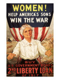 Women! Help America's Sons Win the War, c.1917 Giclee Print by R.h. Parteous