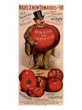 Rice's Tomato Seeds, Mikado, c.1889 Giclee Print