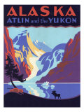 Alaska: Atlin and the Yukon, c.1920 Giclee Print by Segesman 