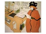 Le Journal des Artistes Lámina giclée por Henri de Toulouse-Lautrec