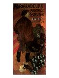 Ambassadeurs Aristide Bruant, c.1892 Lámina giclée por Henri de Toulouse-Lautrec