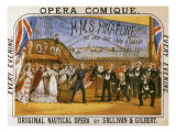 H.M.S. Pinafore, by Gilbert & Sullivan, Opera Comique, c.1878 Giclee Print