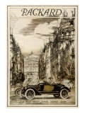 Packard, c.1913 Giclee Print by Earl Horter