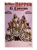 De Wolf Hopper in El Capitan, c.1896 Giclee Print